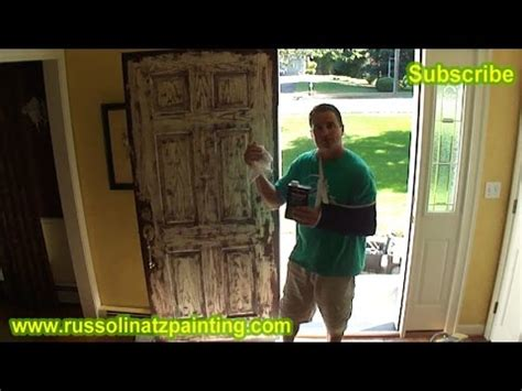 chalk paint glastonbury ct how to paint a stained fiberglass door part 1 in this