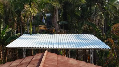 Plavon Pvc Pengaman Atap Bocor ukuran spesifikasi atap upvc tahan panas tahan karat tahan bocor tahan asam tahan garam tahan