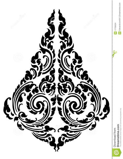 pattern design tattoo drop black pattern tattoo design stock illustration