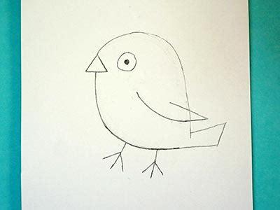 Leichte Sachen Zum Malen by Knuffigen Vogel Zeichnen Kreativraum24