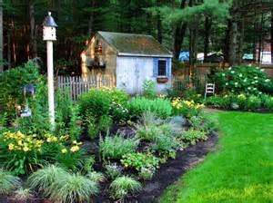 Rustic Landscaping Ideas For A Backyard 20 Rustic Garden Designs Ideas Design Trends Premium Psd Vector Downloads
