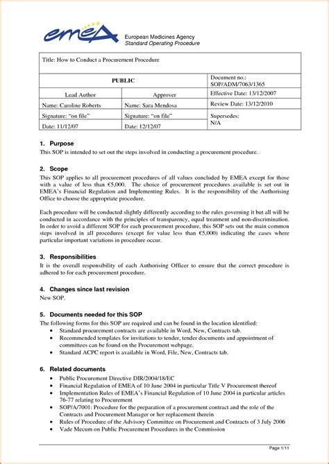 Cpt Permission Letter June 2015 11 Standard Operating Procedure Template Sales Flyer Template Sle Of Reference Letter From