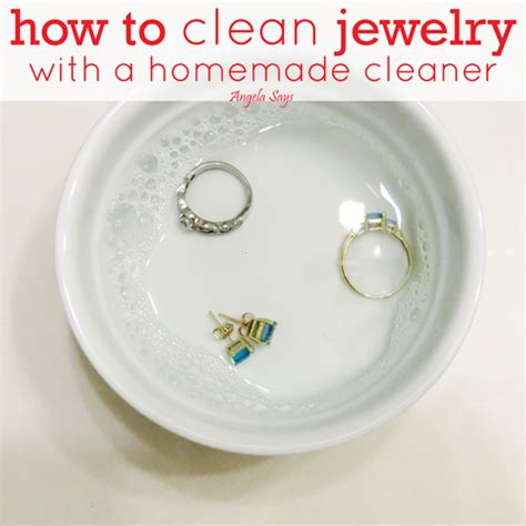 how to make jewelry cleaner for diamonds jewelry cleaner recipe for diamonds style guru