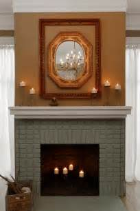 kamin streichen painted brick fireplace makeover how tos diy