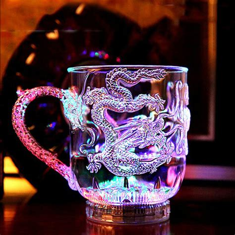 christmas colorful led beer cup novelty beer mugs with