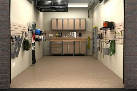 Garage Interior Ideas by Single Car Garage Interior Design Garage