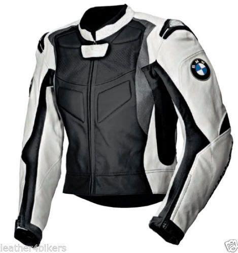 Bmw Motorrad Lederjacke Club by Bmw Herren Leder Biker Jacke Rennen Motorrad Lederjacke