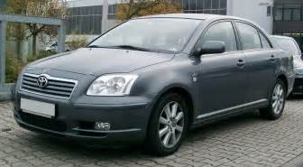 02 Toyota Avensis Toyota Avensis History Photos On Better Parts Ltd