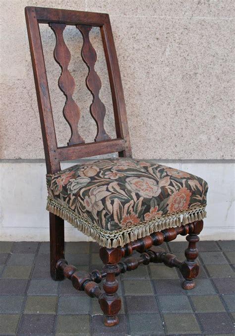 chaise espagnol xviii 232 me en noyer chaises tabourets