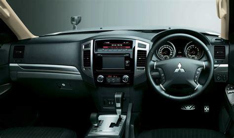 Mitsubishi Pajero Interior Images by Mitsubishi Pajero 2015 Facelift Car Interior Design