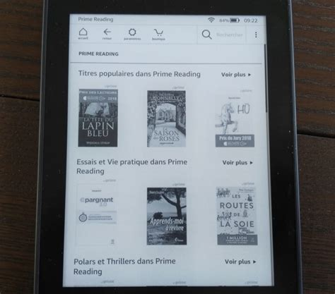 libreria kindle liseuse kobo clara hd ou kindle paperwhite 2018