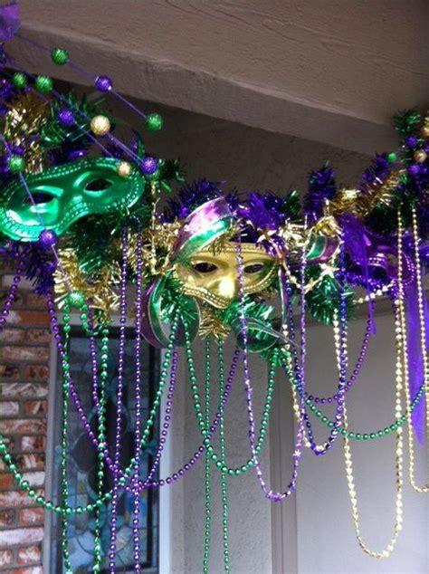 Mardi Gras Decorations Cheap by Mardi Gras Decor Could Be An Entrance Idea Birthday