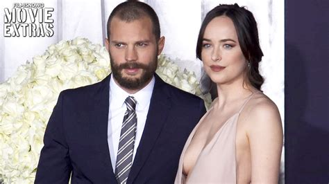 fifty shades darker cast is barred from being too overtly fifty shades darker world premiere with cast interview