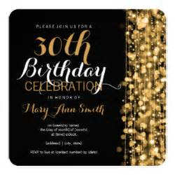 30th Birthday Invitation Template by 30th Birthday Invitations Announcements Zazzle