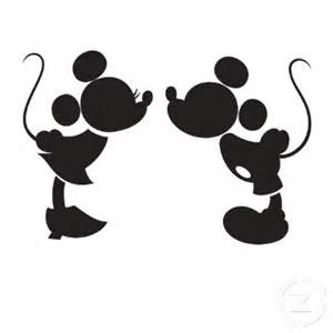 mickey and minnie mouse kissing black and white images amp pictures
