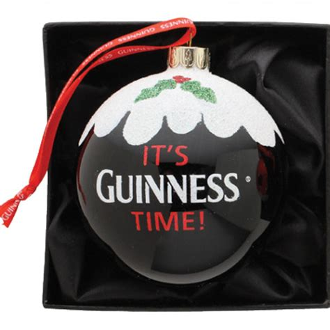 guinness guinness christmas pint bauble ornament from