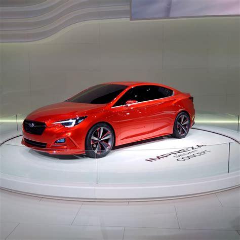 concept car subaru impreza concept motorbox subaru impreza sedan concept les rondeurs reviennent
