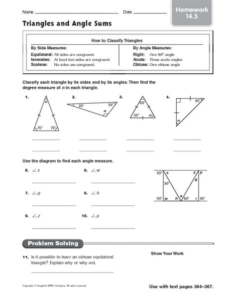 Triangle Angle Sum Worksheet by Triangle Angle Sum Worksheet Lesupercoin Printables