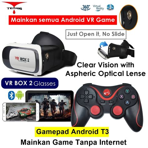 Vr Box 2 0 Putih jual vr box reality lazada co id