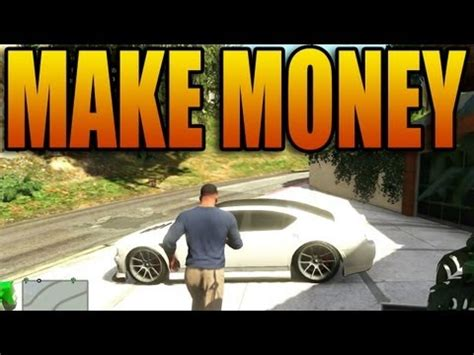 How To Make Tons Of Money In Gta 5 Online - how to make a ton of money in grand theft auto v not lester missions gta v