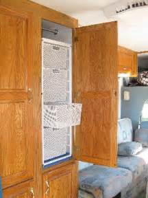 Rv Closet Organizer by Rv Storage Ideas