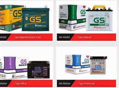 Aki Mobil Gs Premium 95d31l harga aki mobil gs astra terbaru berita otomotif