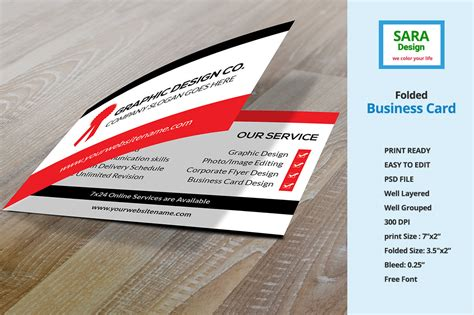 folded business card template folded business card vol 1 business card templates on