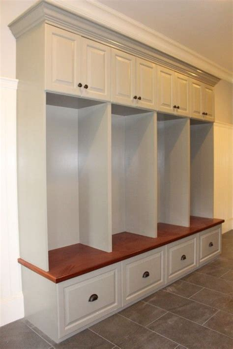 mudroom cabinets and benches 17 best images about mudroom lockers on pinterest