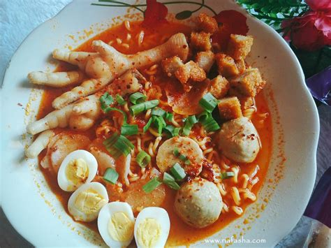 spicy seblak salimah food pedasnya nyata ria fasha