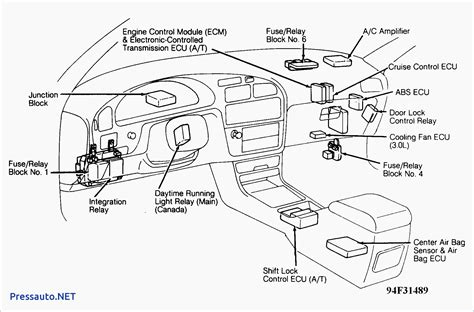 1998 toyota 4runner ecu location wiring diagrams wiring
