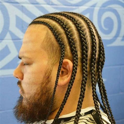 black men newest hair braids pic 45 cool men s braids for long hair best in 2018