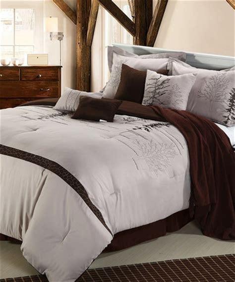 mauve comforter brown mauve katherine queen comforter set home design