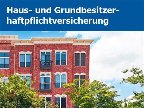 haftpflichtversicherung haus und grundbesitz allsafe tarif select z2 hug konzept marketing gruppe