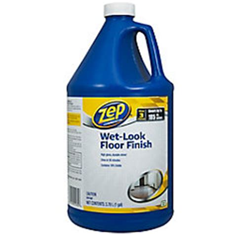 zep commercial zep look floor finish 3 78l the home