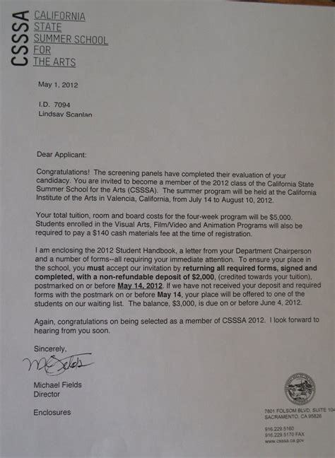 Acceptance Letter Of Manitoba My Csssa Acceptance Letter By Pickardie On Deviantart