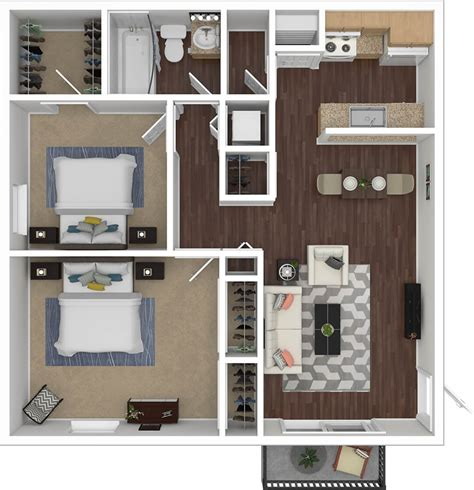 How Many Square Is A 2 Bedroom Apartment by Floorplans Silvertree Communities 2 3 Bedroom
