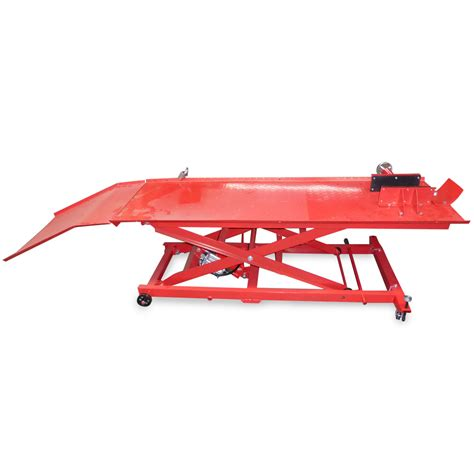 commercial pneumatic motorcycle lift table atv motorbike