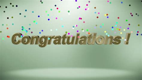 congratulations text stock video footage   hd video clips shutterstock