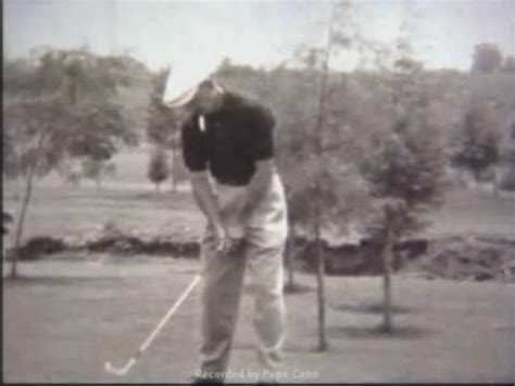 ben hogan swing youtube ben hogan swing 1953 youtube