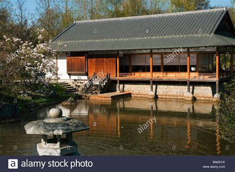 traditional japanese tea house japanese tea house and traditional garden ornament a