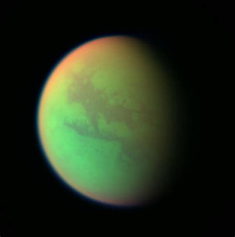 the largest moon of saturn amazing photos titan saturn s largest moon saturn