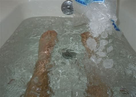 ice bathtub all that glitters is golden ice man bath cometh ice
