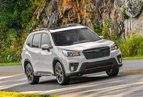 2019 subaru forester sport 2019 subaru forester sport driven ford s self driving