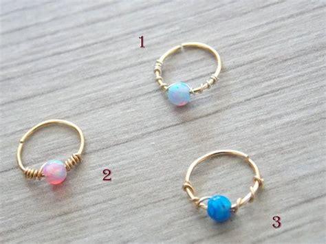Belleza De Bali Earrings opal cartilage earring helix earring tragus earring
