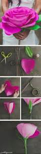 How To Make A Large Paper Flower - diy paper flowers pictures photos and images for