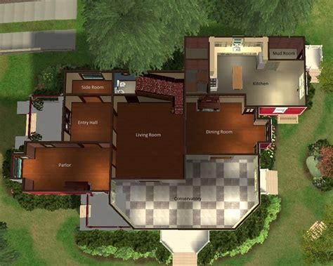 halliwell manor floor plan mod the sims halliwell manor