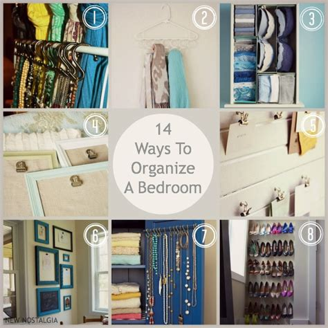 diy small bedroom organization 14 ways to organize a bedroom