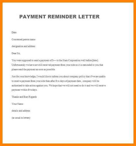 Payment Reminder Letter To Parents Sle Invitation Reminder Letter Images Invitation