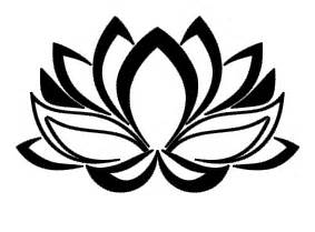 Outline Of Lotus Flower Lotus Outline Picture Clipart Best