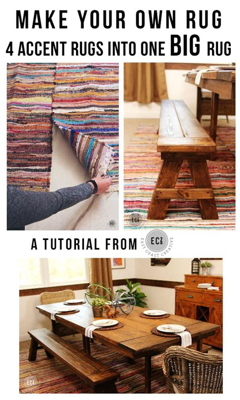 How To Make Own Rug by How To Make Your Own Rug From Smaller Rugs East Coast